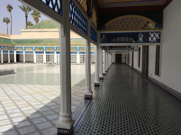 Inside of Bahia Palace