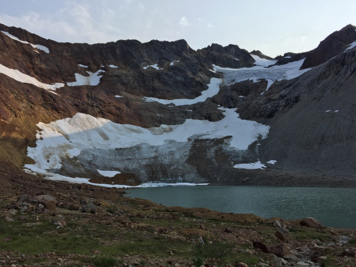 A look at the Chiwawa mountain and its glacier