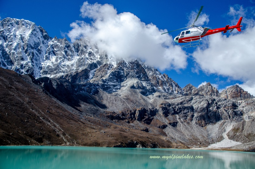 A rescue mission at Gokyo