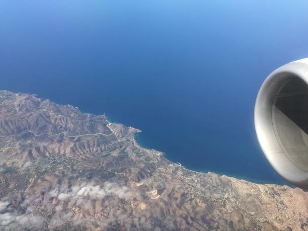 Northwestern coastline of Africa!