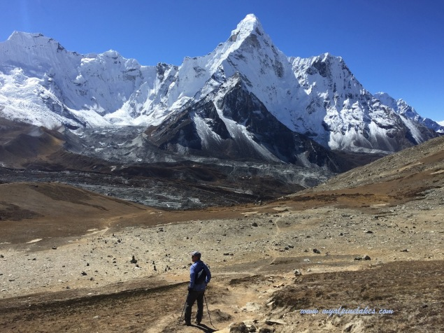 Oh Ama Dablam, we will see you again tomorrow on your back side.