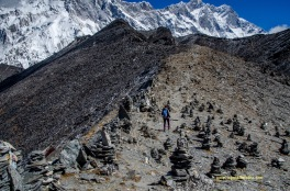 Cairn field on Chukhung Ri