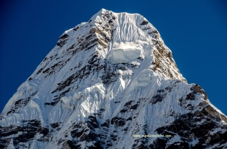 Last look at Ama Dablam
