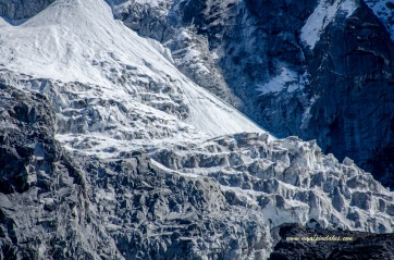Layers of glacial formation