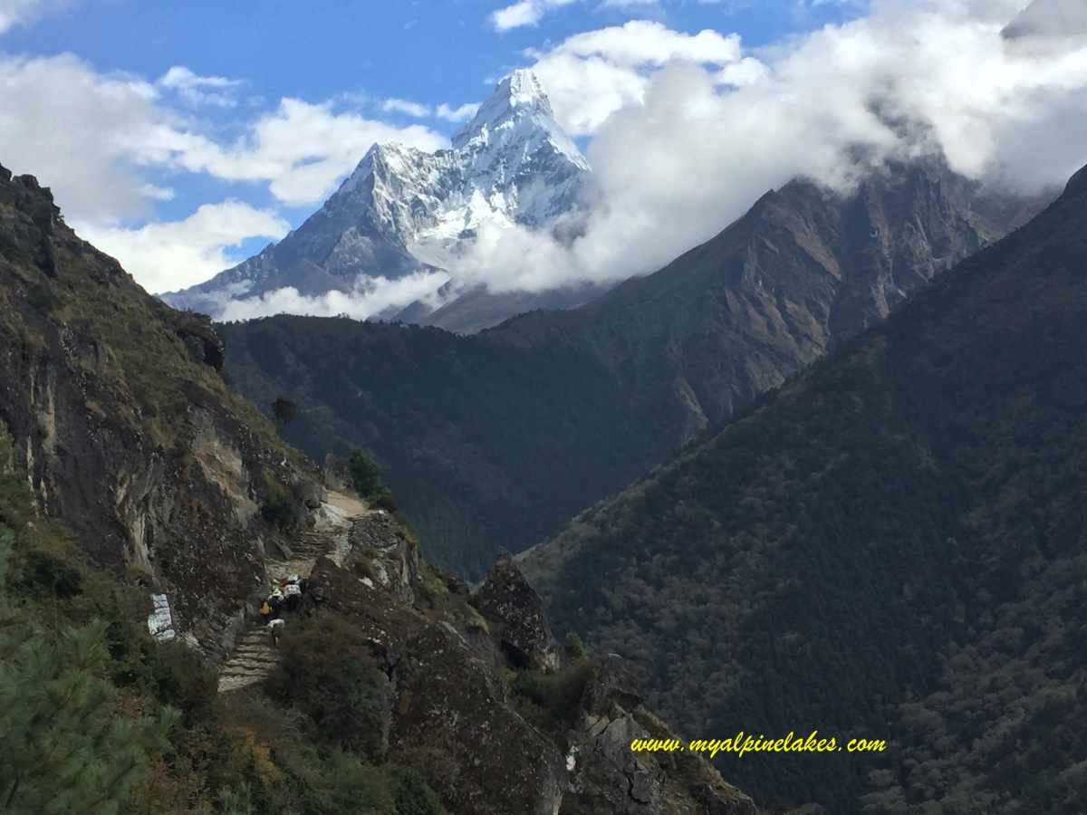 Day 13 & 14: back to Namche and Lukla