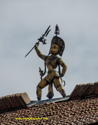 Hanuman AKA Monkey God: young girls are not supposed to touch him before marriage because he gets them horny.
