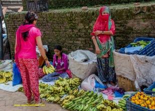 local banana vendor