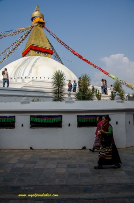one of the largest stupas of the world