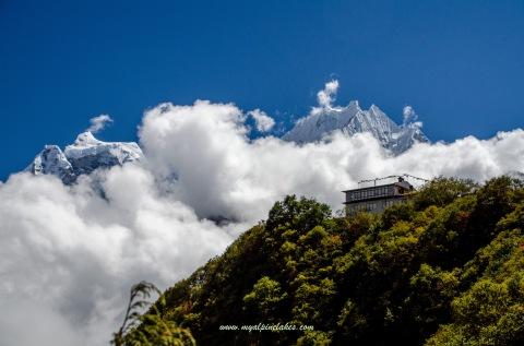 Mong la, a little hilltop village