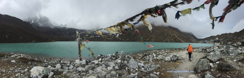 We found Gokyo Lake