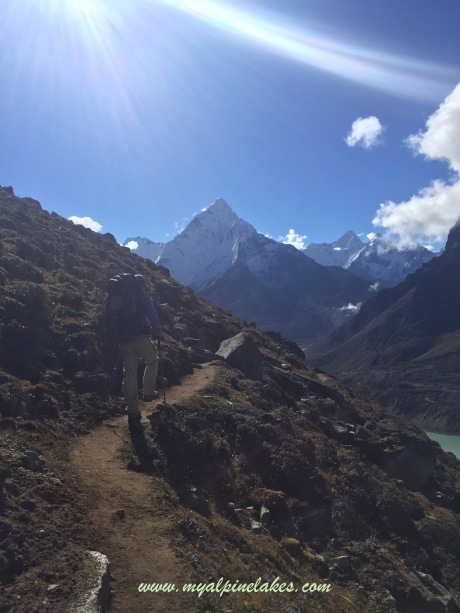 Ama Dablam viewed from northwest