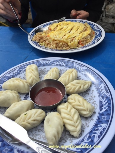 Lunch in Tengboche