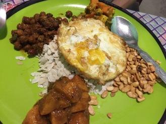 Samay Baji, Newari food