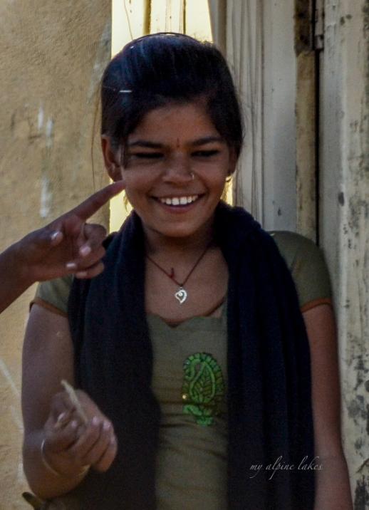 A beautiful smile in Ajmer