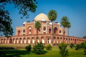 grand Humanyun tomb in Delhi.