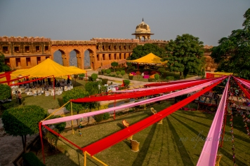 I found myself in the middle of a celebration in the castle in Jaipur