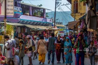 Streets around the ghat in Pushkar