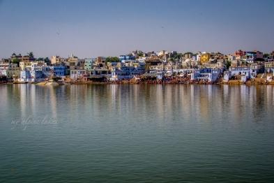 Bathing ghats of Pushkar