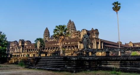 Angkor Wat at sun rise