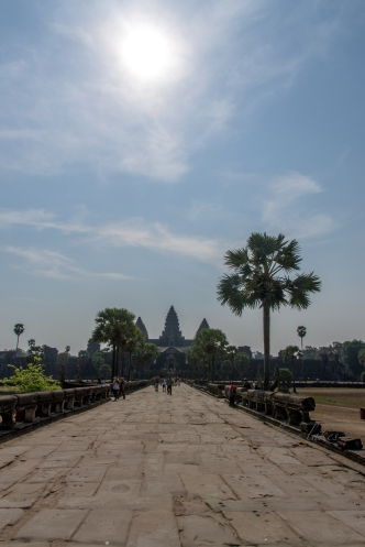 Entry way to Angkor Wat