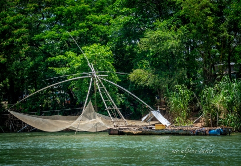 I've seen this fishing contraption in many places through East, Southeast and South Asia. Pretty cool.