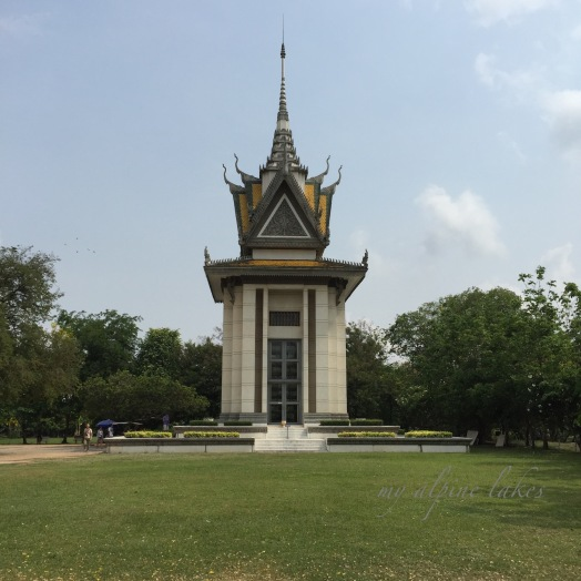Choeung Ek: A heartbreaking place where almost 9000 bodies were found buried in mass graves. One of the best known sites of Khmer Rouge, in which millions innocent people were killed for a political cause. The genocide wiped out 25% of entire Cambodian population. The entire world stood still and watched this happen without intervention.