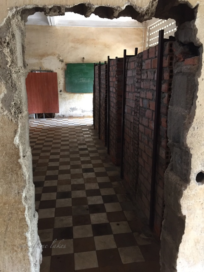 Tuol Sleng genocide museum: A former high school where approximate 20,000 were imprisoned, tortured and killed during Khmer Rouge.