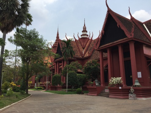 National Museum of Cambodia with beautiful architecture.