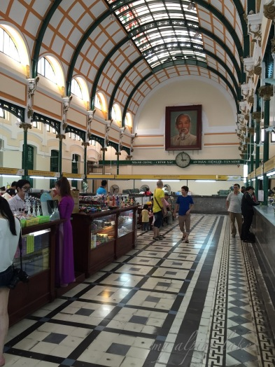 The old post office in HCMC.