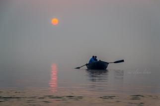 Sunrise on Ganges.
