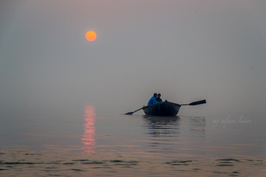 Sunrise on Ganges.