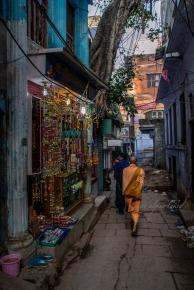 streets of Varanasi.