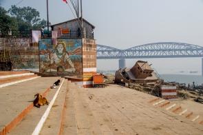 Ganges River bank