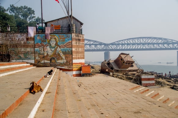 Ganges River bank