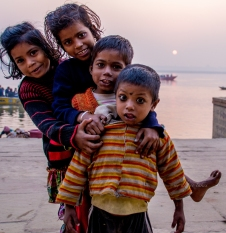 Young kids were eager to line up for a perfect shot as soon as they see me holding a camera.