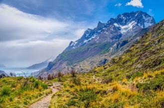 Cerro Paine Grande on the way back.