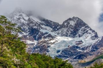 Zoom in Glacier Frances