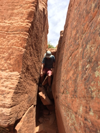 squeezing through the first crack