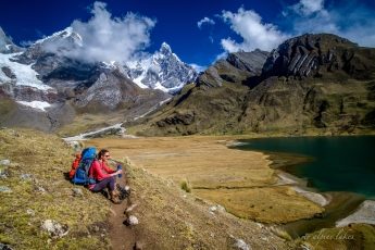 Frequent water breaks to prevent altitude sickness
